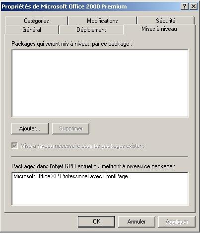installation du logiciel gpo 2008 r2